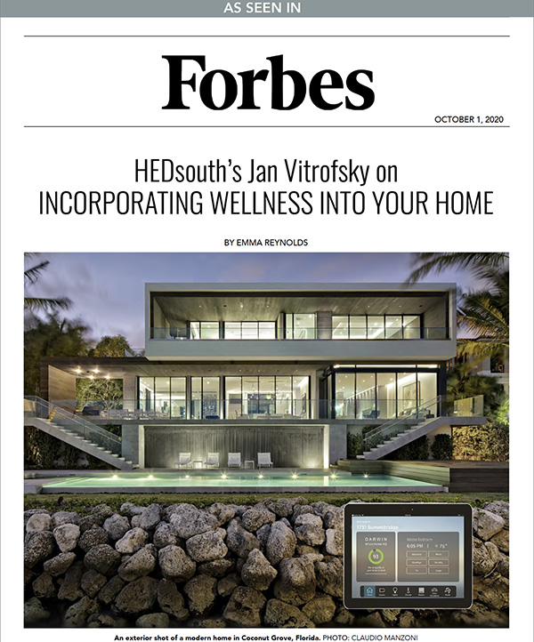 HEDsouth's Jan Vitrofsky on Incorporating Wellness Into Your Home